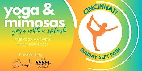 Yoga & Mimosas Cincinnati tickets
