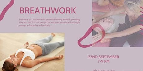 Breathwork workshop tickets