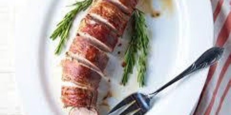 Prosciutto-wrapped Pork Loin with Apples Class Only (no ingredients) tickets