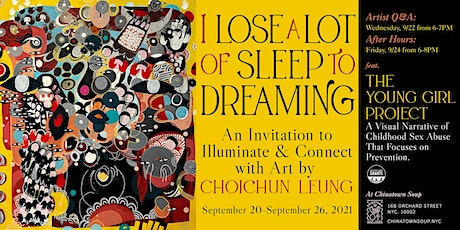 I Lose a Lot of Sleep to Dreaming: Artist Q&A tickets