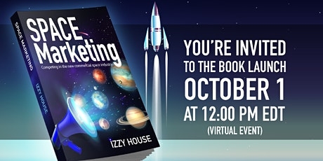 Space Marketing Book Launch tickets