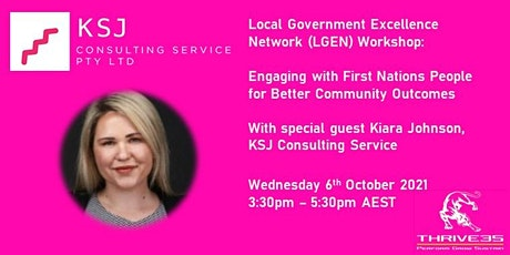 LGEN: Engaging with First Nations People for Better Community Outcomes tickets