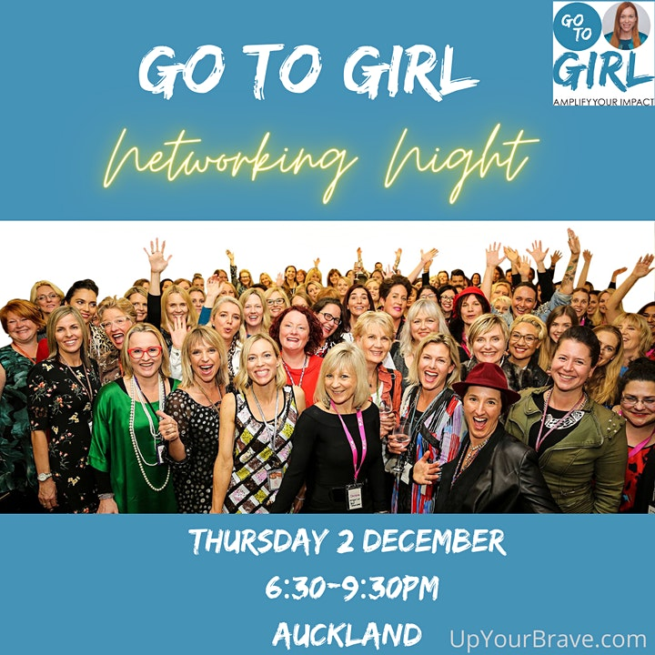 Go to Girl Networking Night - Auckland image