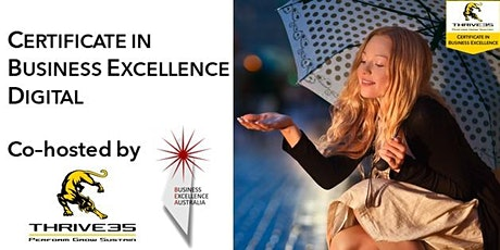 Certificate in Business Excellence - Digital Workshop tickets