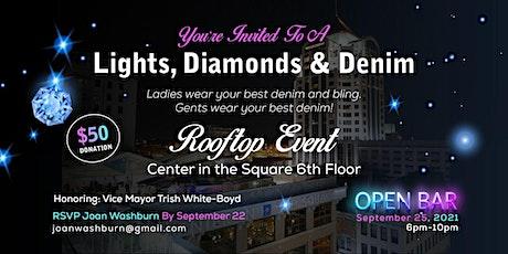 Lights, Diamonds & Denim Rooftop Event tickets