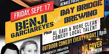 Benji GarciaReyes at Bay Bridge Brewing 9/17 at 8:00 pm tickets