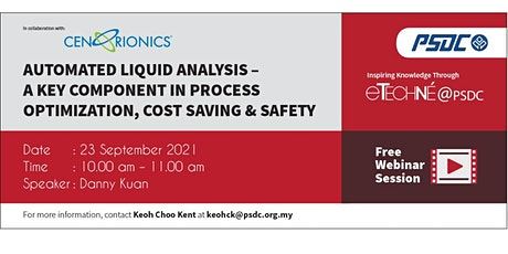 eTechné@PSDC: Automated Liquid Analysis in Process Optimization tickets