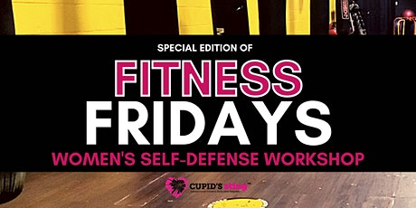 Women's Self-Defense Class (Special Edition of Fitness Fridays) tickets