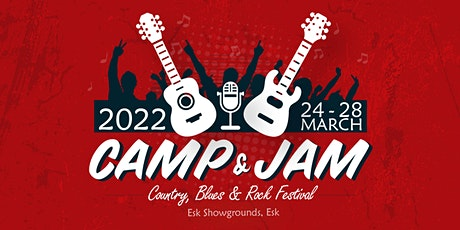 Camp and Jam - Blues, Country and Rock Concert 2022 tickets