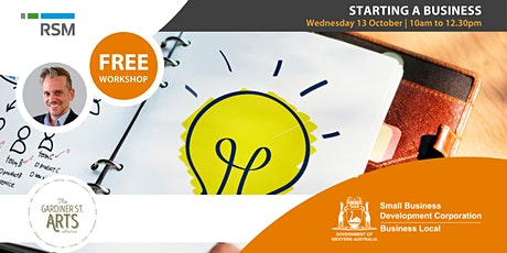 Starting a Business (Moora) tickets