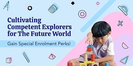 Reggio-inspired Preschool Programmes with Habits of Mind Framework tickets