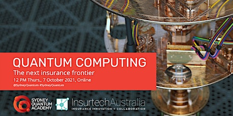 Quantum Computing – The next Insurance Frontier tickets