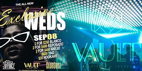 Exclusive Wednesdays at Vault Houston tickets