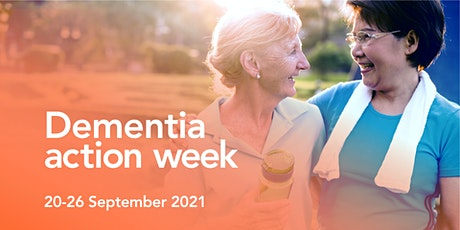 Dementia - all the questions you were too afraid to ask - virtual event tickets