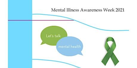Mental Illness Awareness Week 2021 tickets