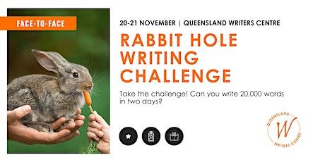 Rabbit Hole Writing Challenge tickets