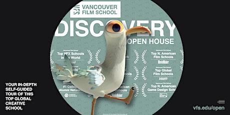 Vancouver Film School - Online Open House - October 2021 ingressos