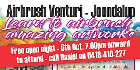 Airbrush Venturi Open Night tickets