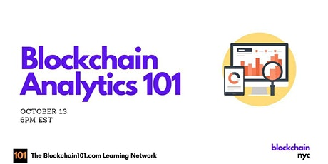 Blockchain Analytics 101 tickets