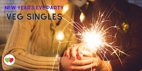 New Year's Eve Party for Veg Singles (4pm PST/7pm EST) tickets