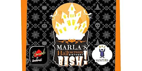 Marla's HalloScream Birthday Bash! tickets