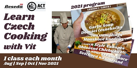 Learn Czech Cooking Live with Vit tickets