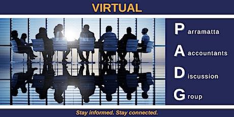 VIRTUAL - Parramatta Accountants Discussion Group (PADG) tickets