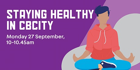 Health & Wellbeing Information Session with Sydney Local Health District tickets