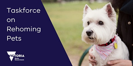 Taskforce on Rehoming Pets Community Webinar tickets