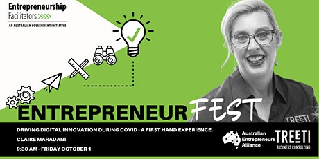 Driving Digital Innovation During COVID - A First-Hand Experience. tickets