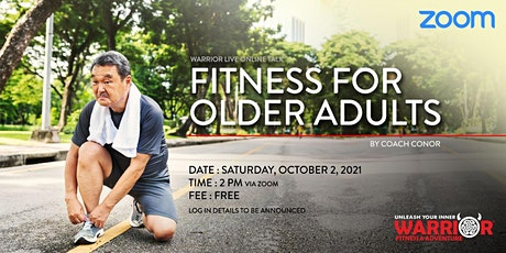 Warrior Live Online Talk: Fitness for Older Adults tickets
