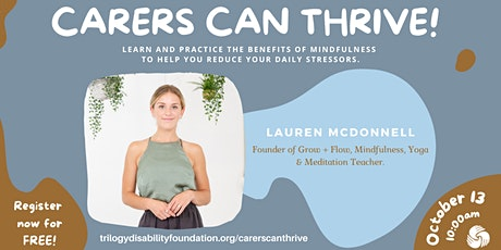 Mindfulness and Self Care tickets