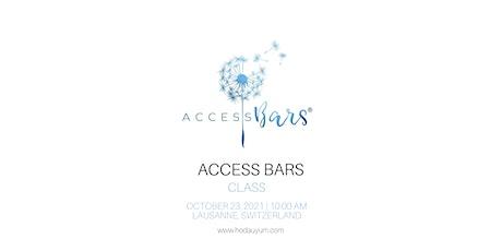 Access Bars Class | English billets