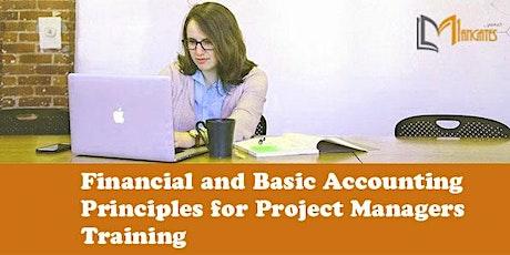 Financial and Basic Accounting Principles for PM Virtual Training-Edinburgh tickets