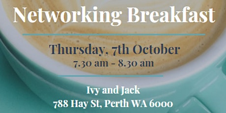Professional Networking Institute - Networking Breakfast - October tickets