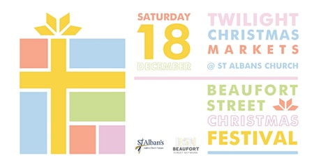 2021 Vendor registration: Christmas Twilight Markets on Beaufort Street tickets