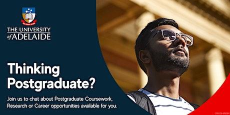 Thinking Postgraduate? Expo tickets