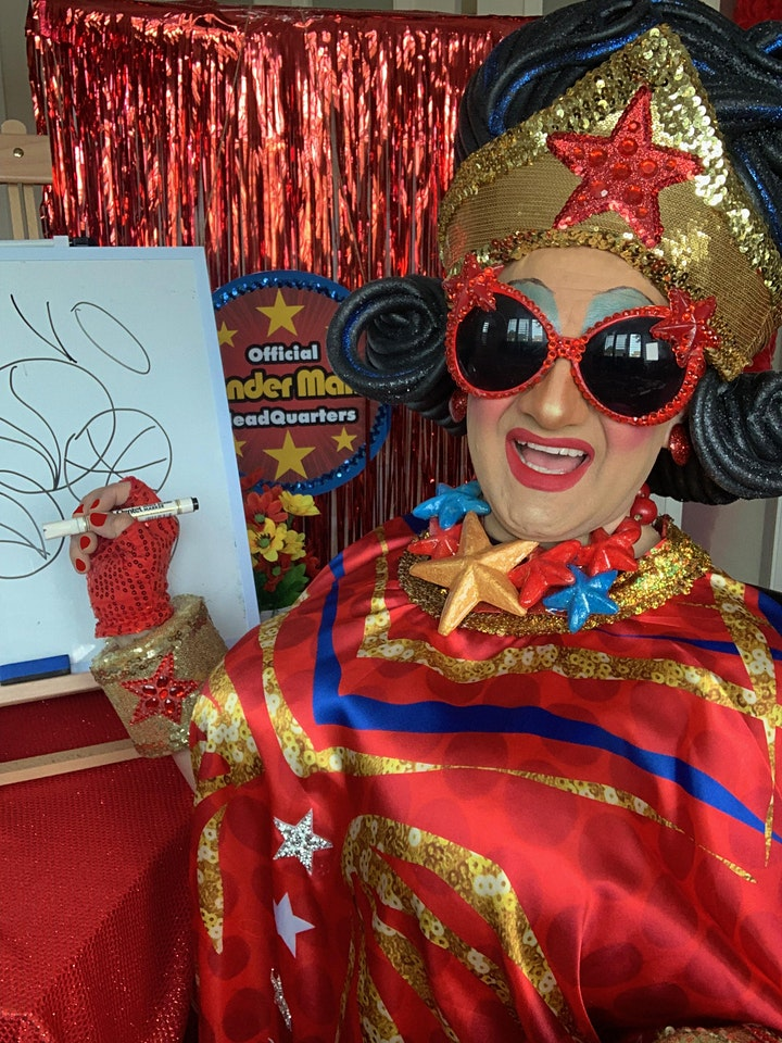 Drawing with Wonder Mama for KIDS!! image