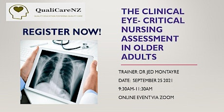The Clinical Eye: Nursing Assessment in Older People (6 Hours CPD) tickets