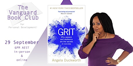 Grit, by Angela Duckworth- The Vanguard Book Club for Personal Development! tickets