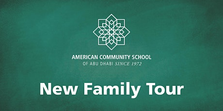 High School New Family Tour tickets