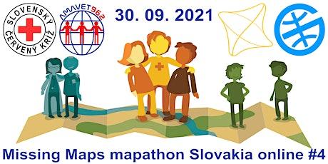 Missing Maps mapathon Slovakia online #4 Tickets