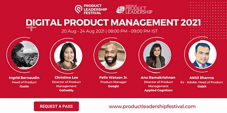 PRODUCT LEADERSHIP FESTIVAL 2021- DIGITAL PRODUCT MANAGEMENT EDITION tickets