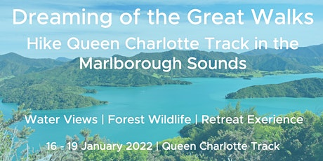 Mindful Adventures - Hike the Queen Charlotte Track in Marlborough Sounds tickets
