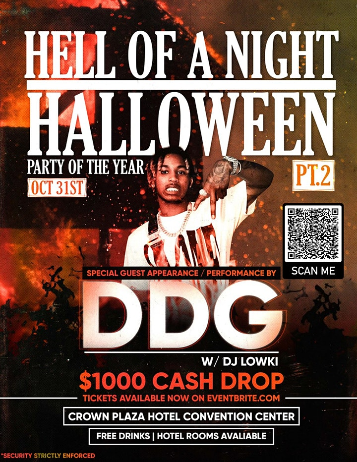 PARTY OF THE YEAR: HELL OF A NIGHT PT2 HALLOWEEN ft DDG image