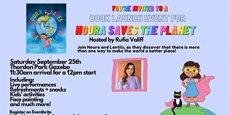 'Noura Saves The Planet' Book Launch tickets