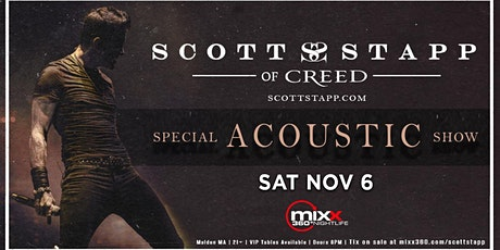SCOTT STAPP of CREED Acoustic Concert tickets