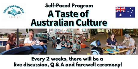 A Taste of Australian Culture (Live on 20th October) tickets