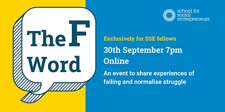 The F Word: An SSE fellows community event tickets