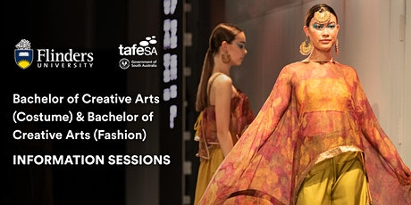 Bachelor of Creative Arts: Costume/Fashion Information Sessions tickets